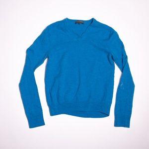 Merino Wool V-Neck Sweater (read description!)